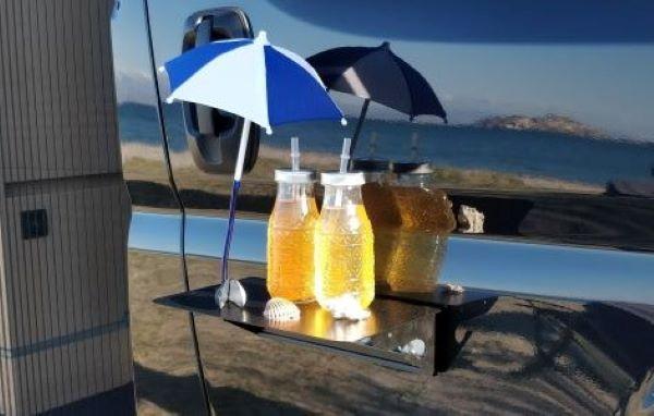 NEU!! flexiMAG-Tischschirmchen mit Magnet & Metallscheibe